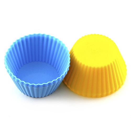 Pečící forma Smart Cook silikonový modrá-žlutá