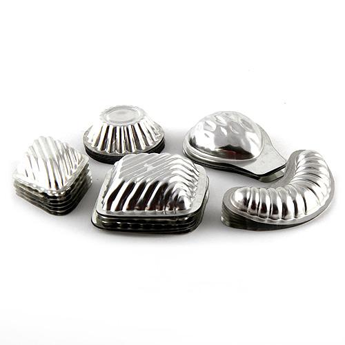 Formičky na cukroví Smart Cook kovové 30 ks