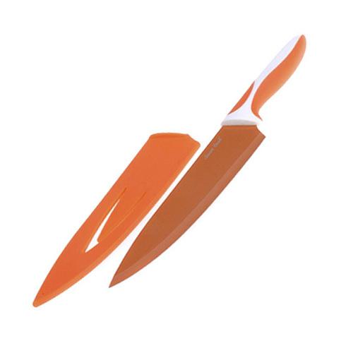 Kuchyňský nůž Smart Cook ocel/keramika oranžová