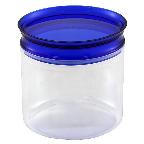 Dóza s uzávěrem Smart Cook plastová oválná modrá 14,5cm