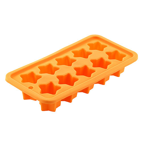 Pečící forma Smart Cook silikonová oranžová hvězdy