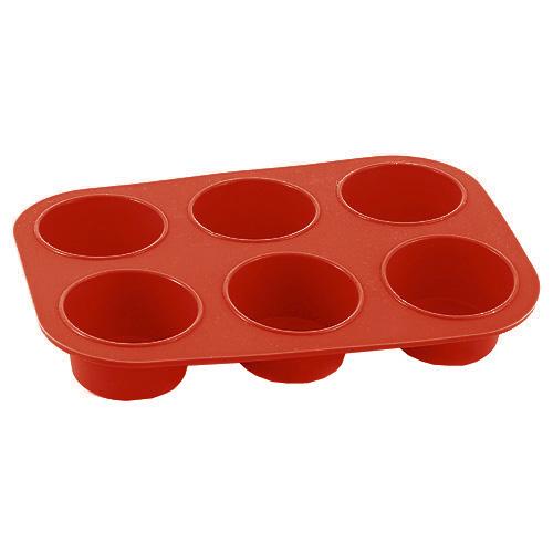 Pečící forma Smart cook silikonová červená