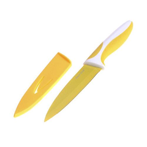 Kuchyňský nůž Smart Cook ocel/keramika žlutá