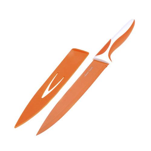 Kuchyňský nůž Smart Cook keramický oranžový
