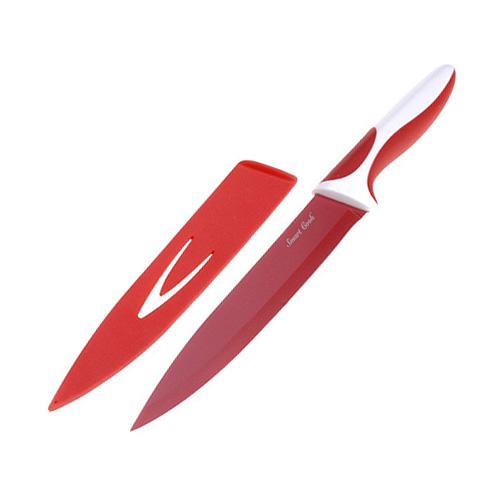 Kuchyňský nůž Smart Cook keramický červená