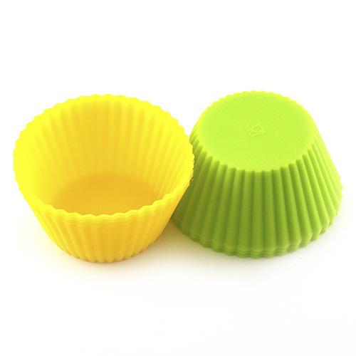 Pečící forma Smart Cook silikonový žlutá-zelená
