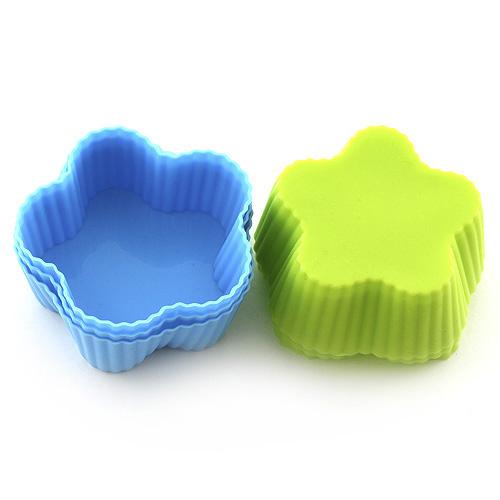 Pečící forma Smart cook silikonová modro-zelená