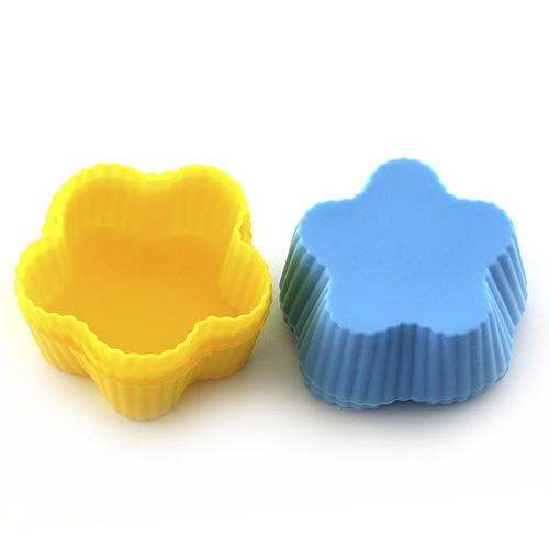 Pečící forma Smart cook silikonová žluto-modrá