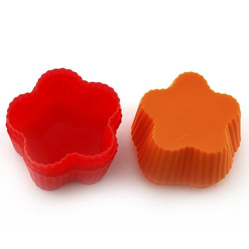 Pečící forma Smart cook silikonová červeno-oranžová