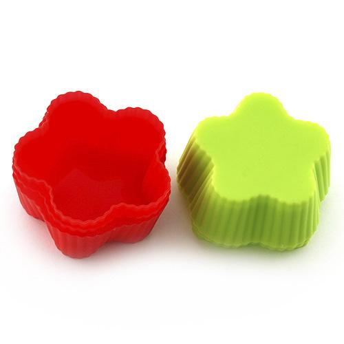 Pečící forma Smart cook silikonová červeno-zelená