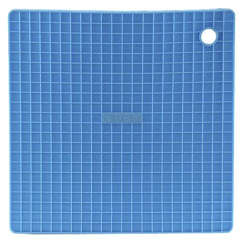 Smart Cook Podložka silikonová modrá 16x16cm