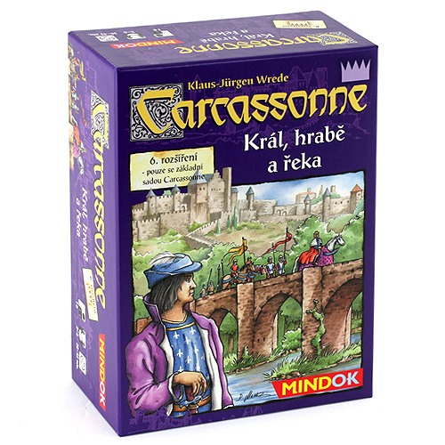 Carcassonne - 6. rozšíření Mindok rozšíření 6 (Král, hrabě a řeka)