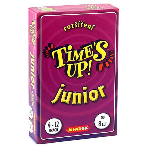 Mindok Time's Up! rozšíření Junior nové kartičky ke hře Times Up!
