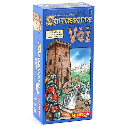 Carcassonne - 4. rozšíření Mindok rozšíření 4 (Věž)