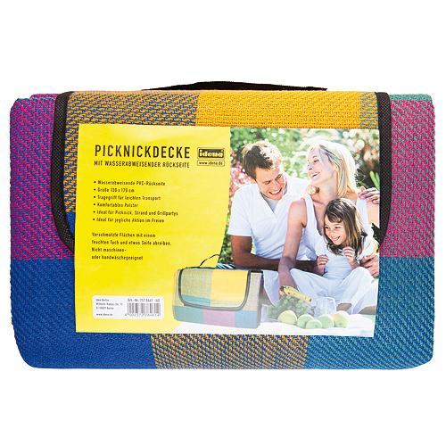 Idena Pikniková deka 1,3x1,7cm