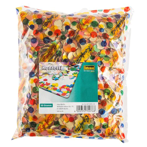 Konfety Idena barevné, 50g
