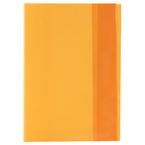 Idena Obal na sešit A5 trans oranžový