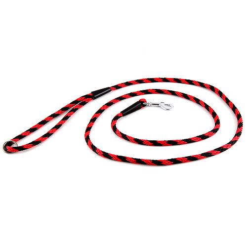 B & F Vodítko lano 0,6x150cm černo-červené