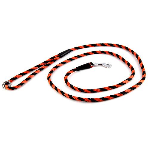 B & F Vodítko lano 0,6x150cm černo-oranžové