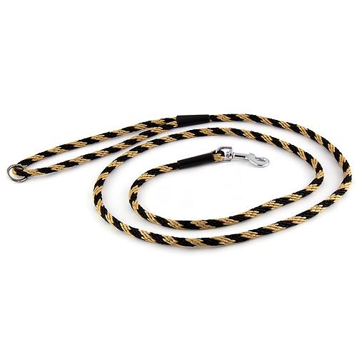 B & F Vodítko lano 1,0x150cm černo-béžové