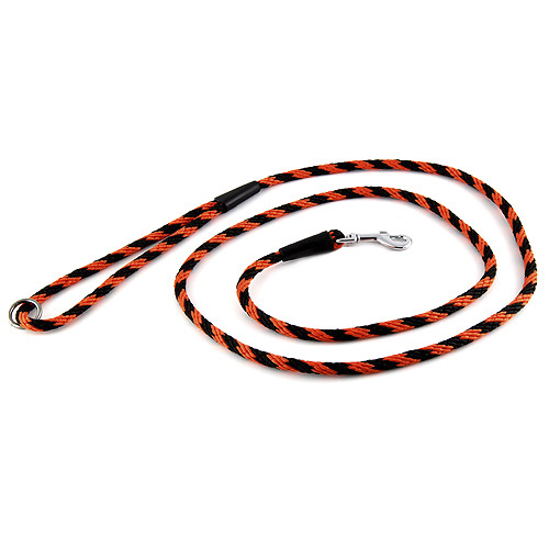 B & F Vodítko lano 1,0x150cm černo-oranžové