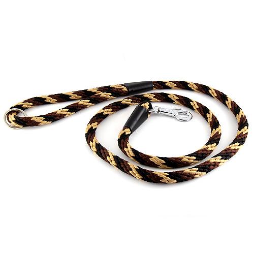 B & F Vodítko lano 1,4x150cm černo-hnědé