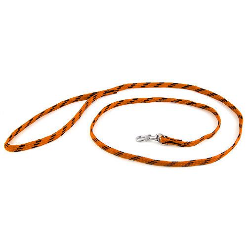 B & F Vodítko nylonové 1,0x130cm oranžovo-černé