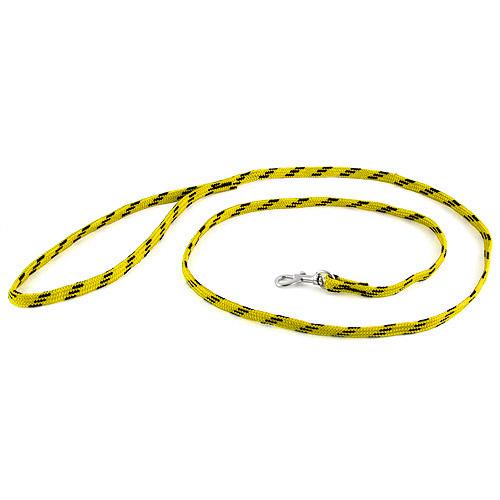 B & F Vodítko nylonové 1,0x130cm žluto-černé