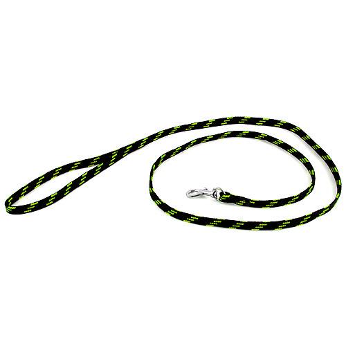 B & F Vodítko nylonové 1,0x130cm černo-zelené