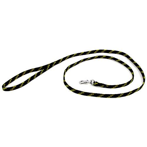 B & F Vodítko nylonové 1,0x130cm černo-žluté