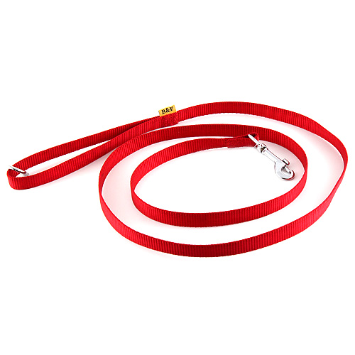 B & F Vodítko popruhové 1,5m 2,5x150cm červené