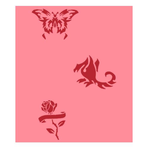 Airbrush šablona Eulenspiegel Airbrush šablony - Mix I