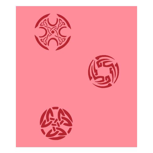 Eulenspiegel Airbrush šablona Airbrush šablony - Keltské symboly