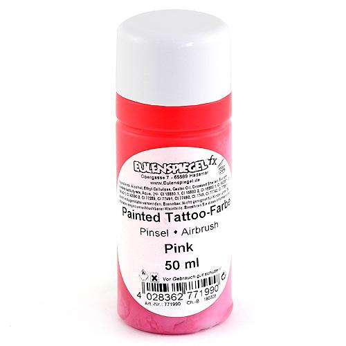 Airbrush tetovací barva Eulenspiegel Airbrush tetovací barva 50ml - Růžová