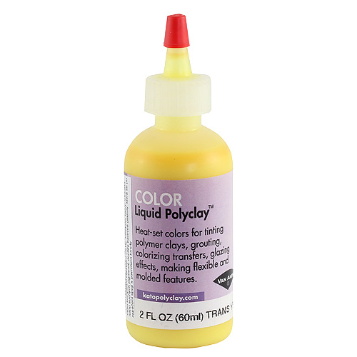 Kato Liquid Polyclay 60ml - Žlutá