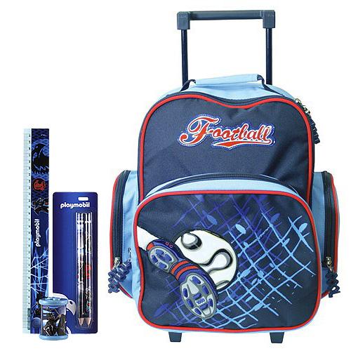Školní batoh Cool trolley set motiv Playmobil  ořezávátko a7142f9433