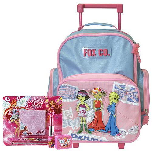 Školní batoh Cool trolley set motiv Winx  ořezávátko 0aad132bc1