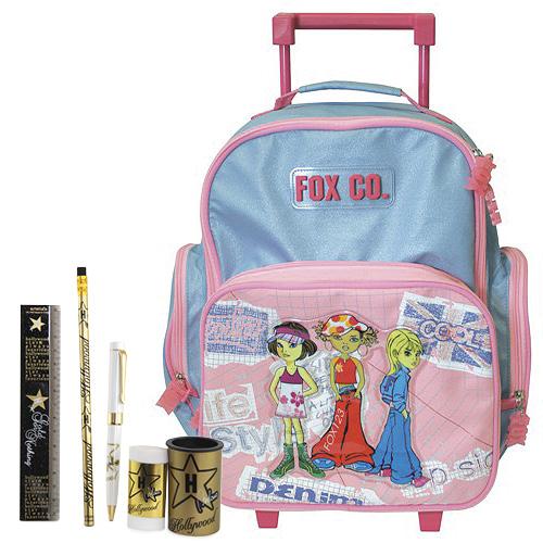 01b6ddac497 Školní batoh Cool trolley set motiv Hollywood  guma