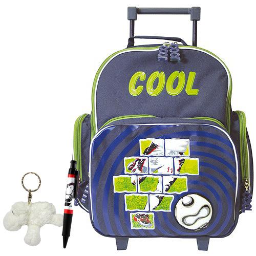 ced66c6d743 Školní batoh Cool trolley set kuličkové pero a plyšová klíčenka s motivem  Sheepworld