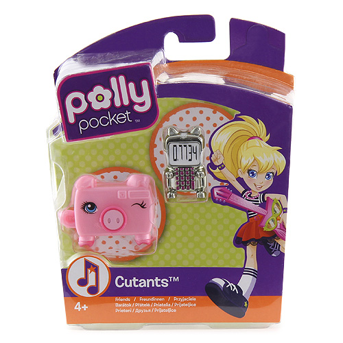 Hasbro Zvířátka Polly Pocket Mattel skunk a prasátko