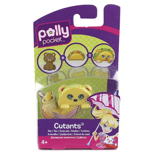 Hasbro Zvířátko Polly Pocket Mattel medvídek