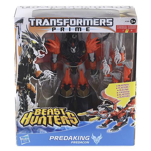 Transformers Lovci příšer Hasbro Predaking s bitevním vybavením