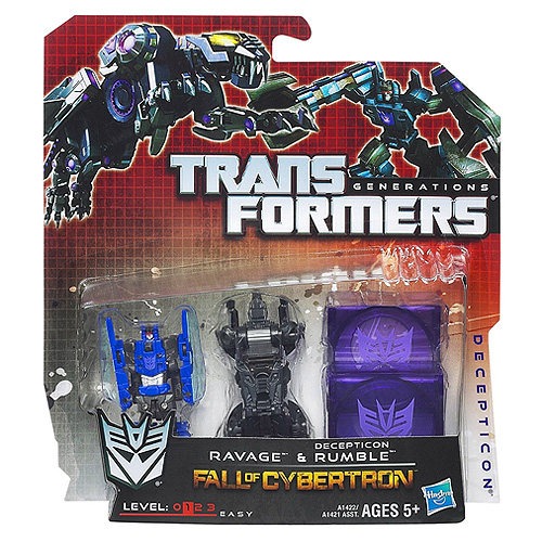 Transformers disky Hasbro Ravage a Decepticon Rumble