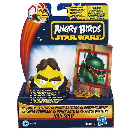 Míček s terčem Star Wars Hasbro Angry Birds - natahovací míček s terčem