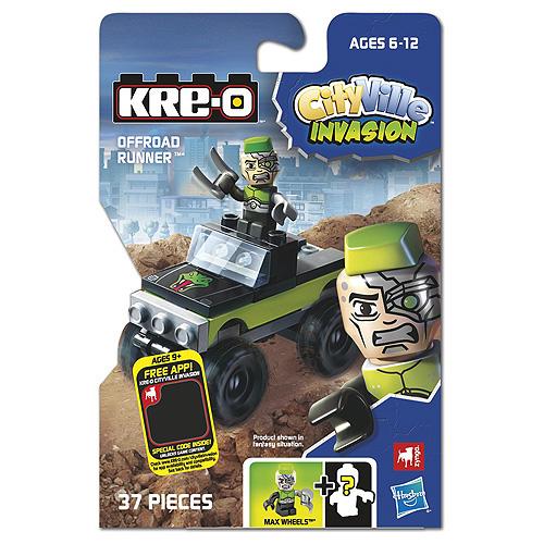 Stavebnice KRE-O Hasbro 37 dílků - vozidlo s panáčkem