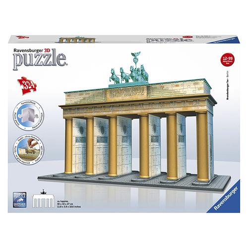 3D Puzzle Ravensburger Braniborská brána, 324 dílků 3D