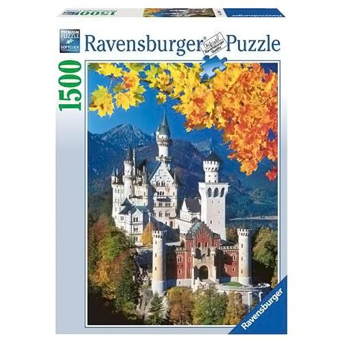 Puzzle Ravensburger Podzimní zámek Neuschwanstein, 1500 dílků