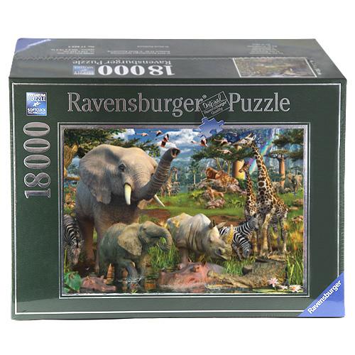 Puzzle Ravensburger Divočina, 18000 dílků