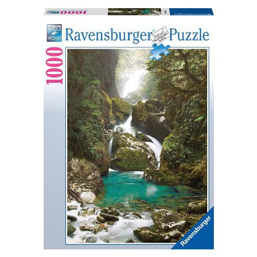 Puzzle Ravensburger Vodopád, 1000 dílků
