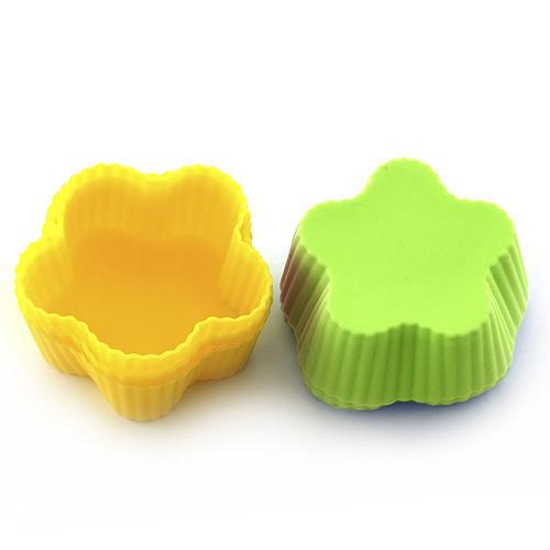 Pečící forma Smart cook silikonová žluto-zelená